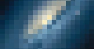 Contemporary Styled Pixel PowerPoint Background