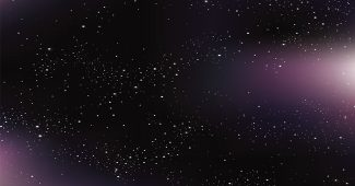 Deep Space PowerPoint Background