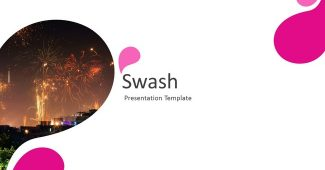 Swash powerpoint template