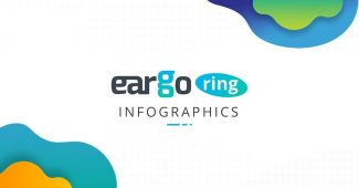 Ring infographic charts Powerpoint Template