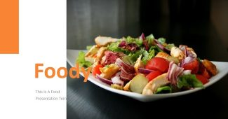 Healthy Foody PowerPoint Template