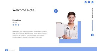 Simple Medical PowerPoint Template