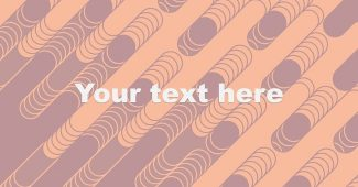 Diagonal rounded lines PowerPoint Background