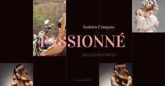 Fashion Company Powerpoint Template