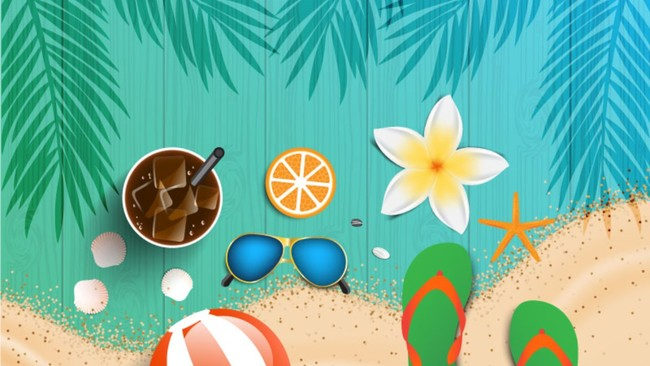 Summer Time PowerPoint Background
