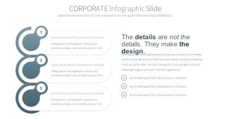 Corporate Infographic Chart Powerpoint Template