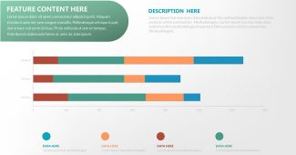 Chart and lable Powerpoint Template