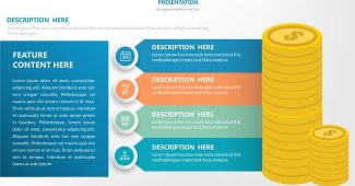 Infographic with Table Powerpoint Template