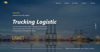 Exquisite Logistic Powerpoint Template