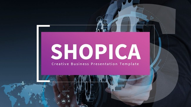 Realistic Business Powerpoint Template