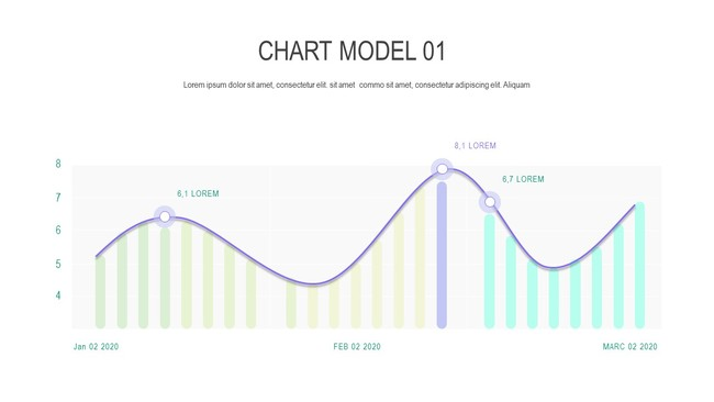 Creantive Chart and Table Powerpoint Template