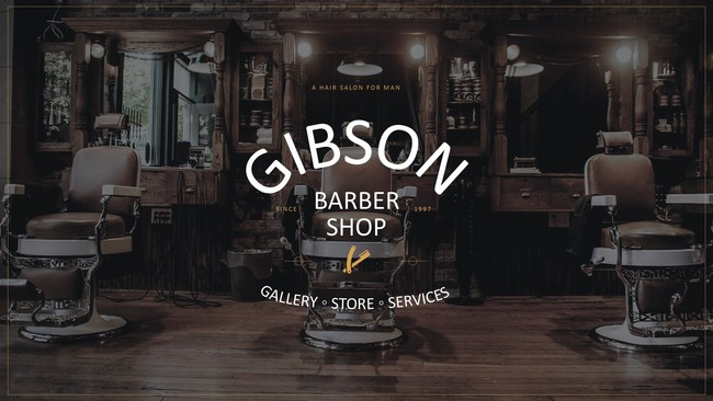 Barber Shops Powerpoint Template