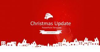 Red Christmas Presentation Template