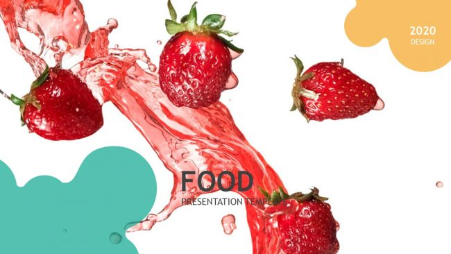 Creative Food Powerpoint Template