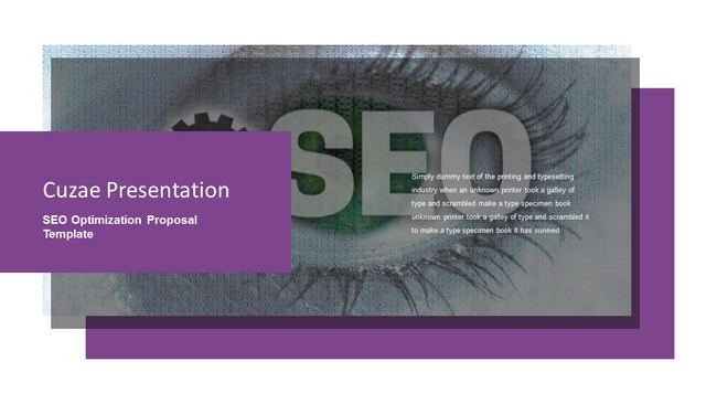 SEO Proposal Powerpoint Template