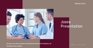 Medical institution Powerpoint Template