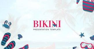 Beach Holiday Powerpoint Template