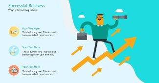 Funny Business Infographic Presentation Template