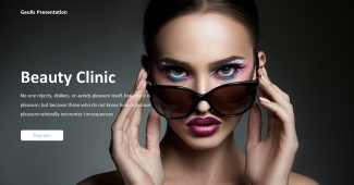 Classic Beauty Clinic Presentation Template