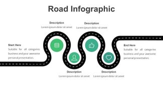 Road Infographic Presentation Template