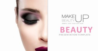 Pink Beauty Presentation Template