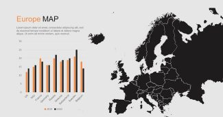 Europe Maps and Charts Presentation Template