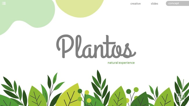 Plant and Natural Presentation Template
