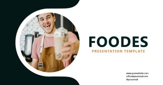 Classic Food Presentation Template