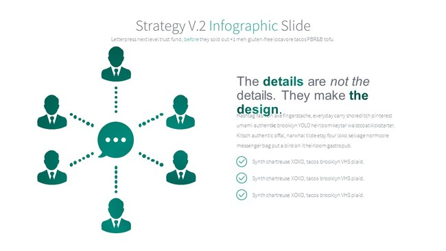 Classic Green Infographic Presentation Template