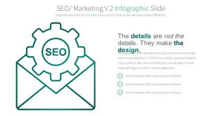 Green Seo Infographic Presentation Template