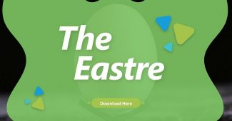 Green Styles Easter Presentation Template