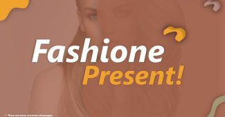 Orange and Brown Fashion Presentation Template