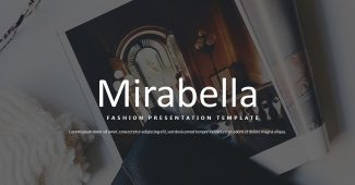 Simple and Fashion Presentation Template