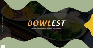 Tableware and Food Presentation Template