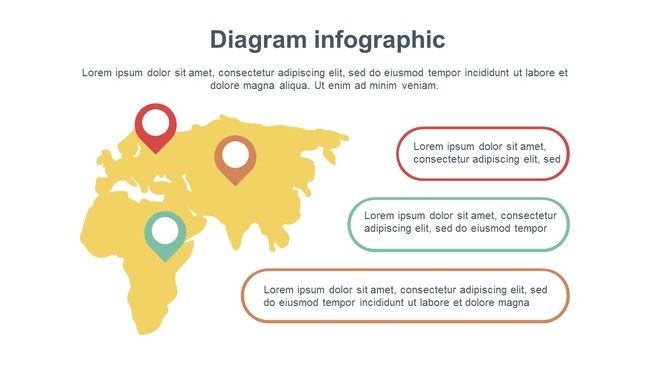 Travel Diagram and Charts Presentation Template