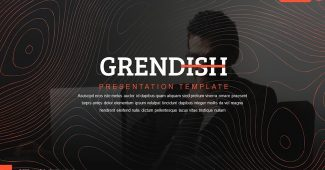 Premium Red Company Business Presentation Template