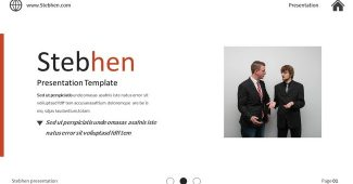 Excellent Multifunctional Business Presentation Template