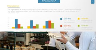 Creative Data Analysis Charts Presentation Template