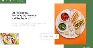 Healthy and Food Presentation Template