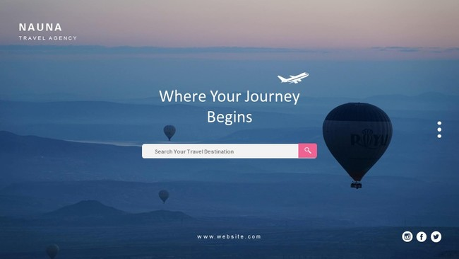 Excellent Travel Agency Presentation Template