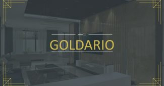 Golden Interior Decoration Presentation Template