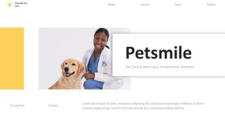 Pet Care and Veterinary Presentation Template