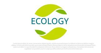 ECOLOGY Infographic Presentation Template