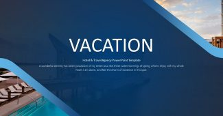 Hotel and Travel Agency Presentation Template