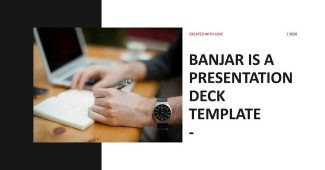 Black Simple and Multifunctional Presentation Template