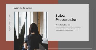 Best Product Business Presentation Template