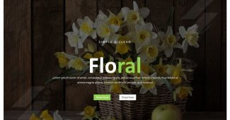 Floral Meeting Presentation Template