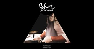 Black Style Cooking Presentation Template