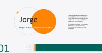 Classic Project Proposal Presentation Template