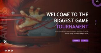 Esport Game Powerpoint Template
